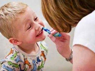 علاقمندکردن کودکان به مسواک زدن