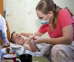 خروسك یکی از بیماری های شایع کودکان