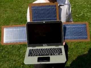 لپ تاپ خورشیدی Sol با سیستم عامل اوبونتو