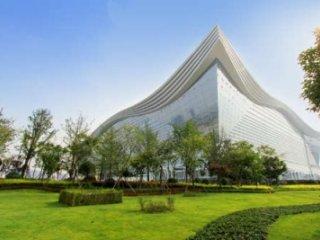 افتتاح بزرگترين ساختمان جهان در چين
