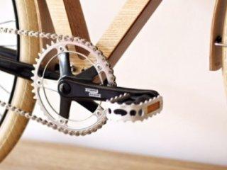دوچرخه چوبی ۳۳۰۰ دلاری